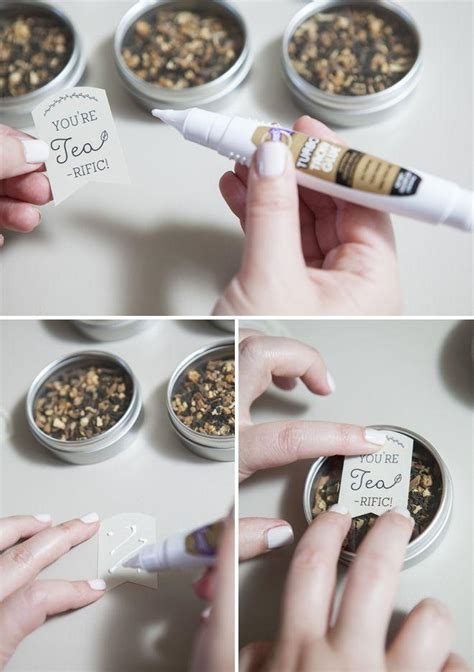 learn how to make these darling tea wedding favors 2166443 weddbook - How To Make Wedding Giveaways