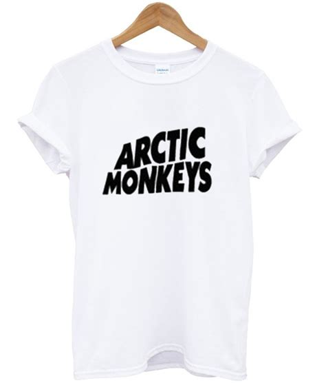 Tshirt Arctic Monkeys 02 arctic monkeys basic logo t shirt