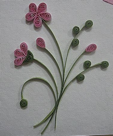 flower pattern for quilling quilling patterns cards