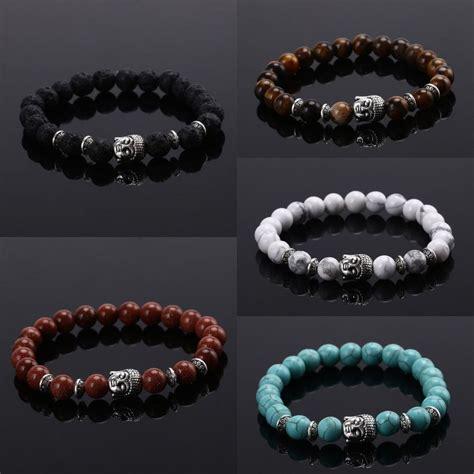 Handmade Rock - handmade lava rock bracelet gemstone