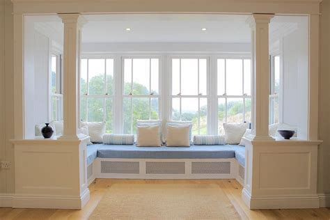 bow window seat stylish and futuristic bay window with window seat design