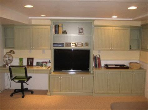 entertainment center desk