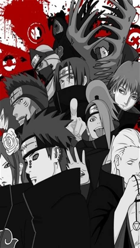 akatsuki wallpaper iphone wallpapersafari