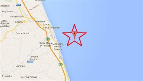 porto recanati notizie oggi terremoto oggi in italia scossa magnitudo 3 a porto