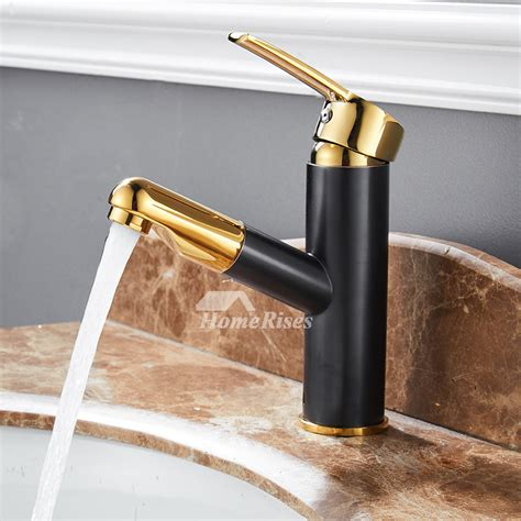 industrial bathroom faucet rubbed bronze polished