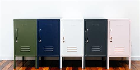 mustard  lockers homewares  design ideas