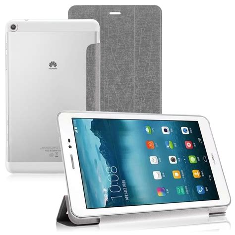 Tablet Huawei Mediapad T1 8 0 new slim folio leather cases for huawei mediapad t1 8 0