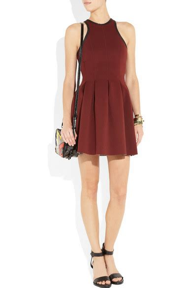 Friday Afternoon Dresses From Net A Porter by T By Wang Pleated Neoprene Dress Net A