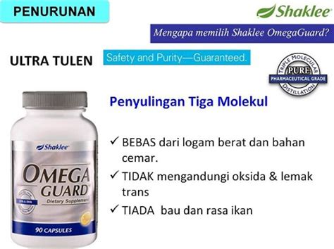 Minyak Ikan Health Care set jantung shaklee