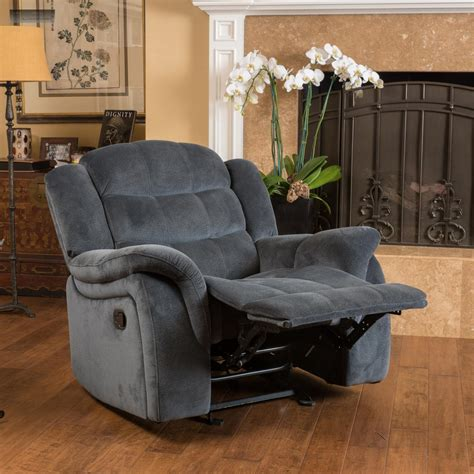 Lazy Boy Chairs Recliners - brown fabric recliner glider lazy chair reclining seat