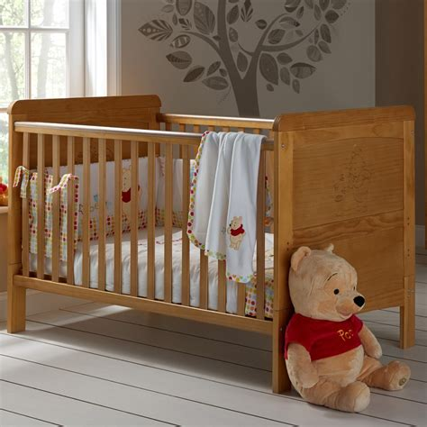 Winnie The Pooh Cot Bed Set Buy Obaby Winnie The Pooh Cot Bed Country Pine Preciouslittleone