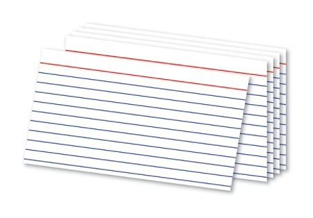 ruled index card template 3 by 5 notecard 300 nonpersonalized 3x5 cards white ruled