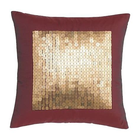 burgundy throw pillows canada ikea fenja paljett throw pillow cushion gold sequins