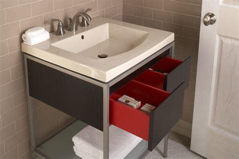 Kohler Persuade Vanity by Kohler Vanity Kohler Tresham Linen White Bathroom Vanity