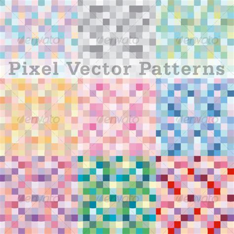 svg pattern fill not working pixels vector pattern swatches by efrate graphicriver