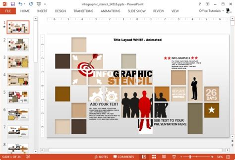 powerpoint infographic template free download best