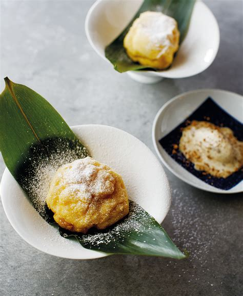 deep fried durian puffs recipe epicure magazine
