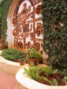 great outdoor wall decor decorating ideas images in landscape mediterranean design ideas