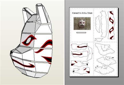 Anbu Mask Papercraft - pepakura
