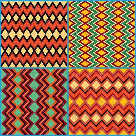 pattern with geometric motifs seamless geometric patterns on ethnic motifs royalty free