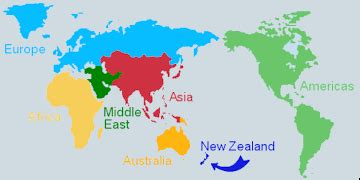 Where Is New Zealand On A World Map by New Zealand On A World Map London Map