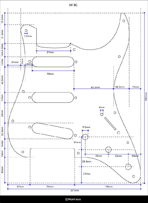 Strat Template telecaster pickguard template images