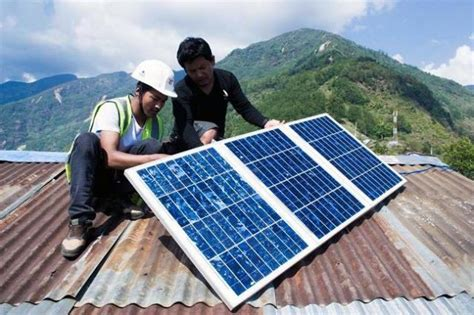 solar light in nepal solar is lighting the way for recovery in nepal