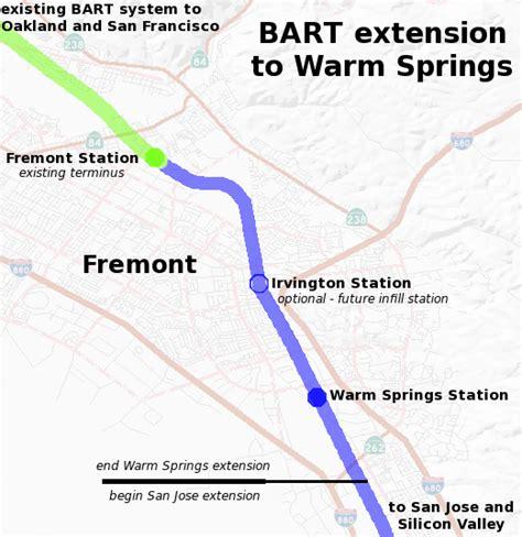 bart san jose extension map bay area rapid transit expansion