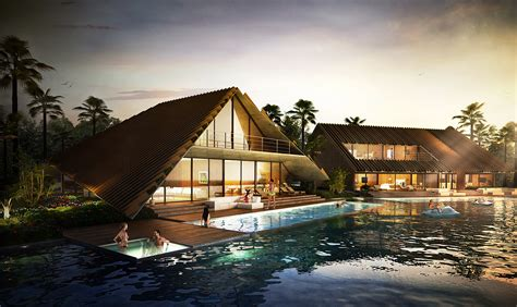 Architectural Home Designs by 3d Visualization Thailand Resort Architectural