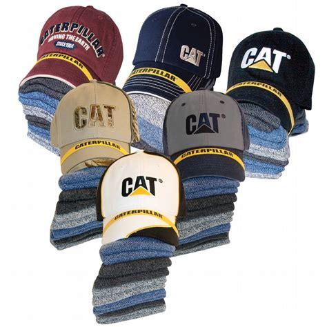 cat sock bundle caterpillar cat 1490005 cap and 6 pack sock bundle 1490005