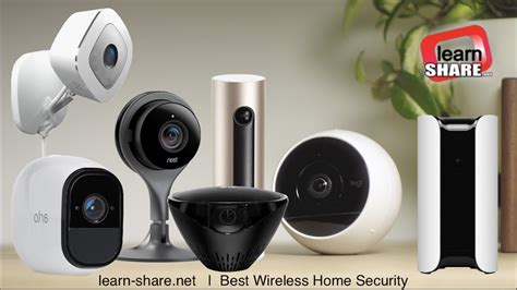 best wireless home security cameras 2017 learn net