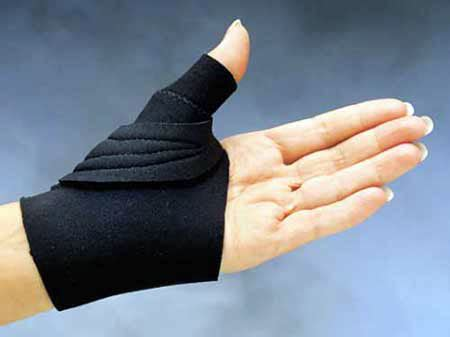 comfort cool arthritis thumb splint comfort cool arthritis thumb splint black product