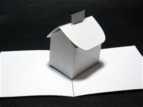 house pop up card template welcome to robertsabuda