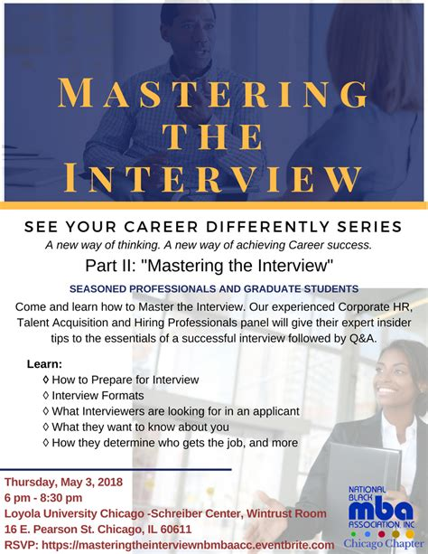National Black Mba Conference 2018 Location by Mastering The Nbmbaa Chicago