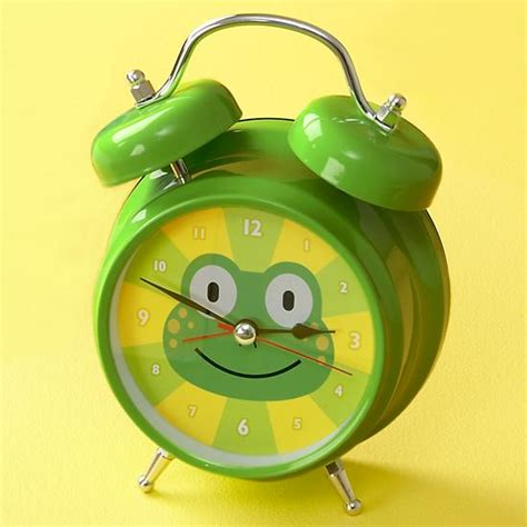 wall clocks alarm clocks the land of nod