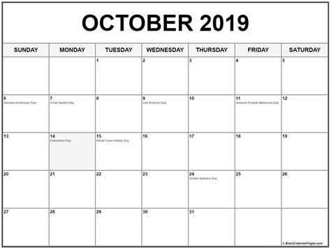 october  calendar  word excel templates november calendar