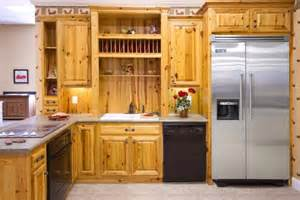pine wood kitchen cabinets using wood for a better unfinished kitchen cabinets home