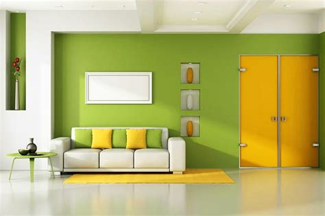 yellow green living room pictures of bright wall colors slideshow