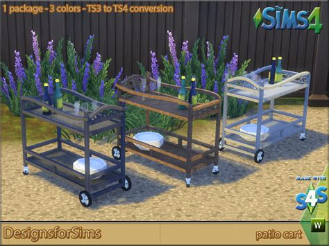 ts3 to ts4 conversion patio beverage cart designs for