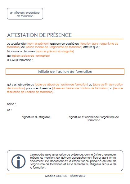 What Is A Presence Document