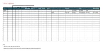 analysis template excel 8 best templates to analysis stakeholders word excel