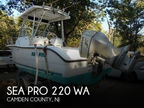 sea pro boats for sale in nj sea pro 220 wa for sale in atco nj for 13 500 pop yachts