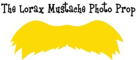 lorax mustache template lorax cliparts