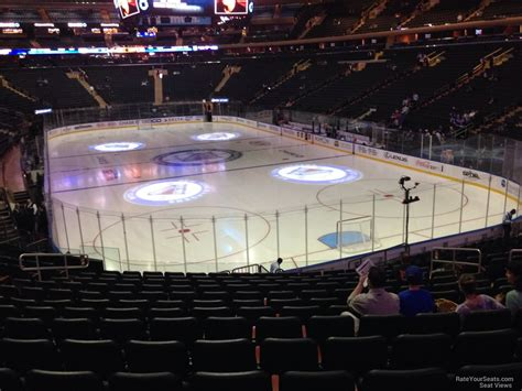msg section 101 madison square garden section 101 new york rangers