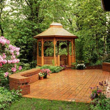 Terrassen Pavillon Holz by Holz Pavillon Im Garten Am Rande Terrasse Partyfl 228 Che
