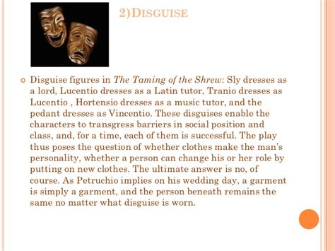 taming of the shrew thesis taming of the shrew appearance vs reality essay