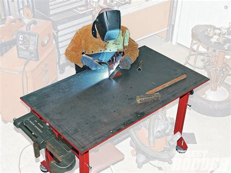 welding bench top tips for building a welding table hot rod network
