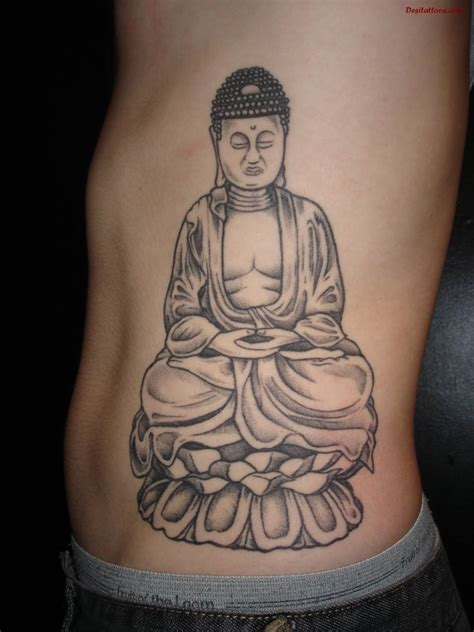 laughing buddha tattoo designs black and grey laughing buddha design