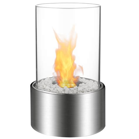Portable Bio Ethanol Fireplace by Ventless Tabletop Portable Bio Ethanol Fireplace In