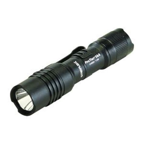 streamlight protac 1aa black flashlight 88032 the home depot